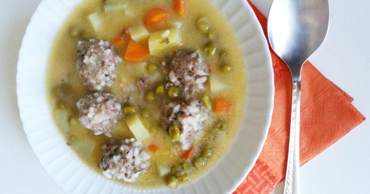 Meatballs with Egg and Lemon Sauce